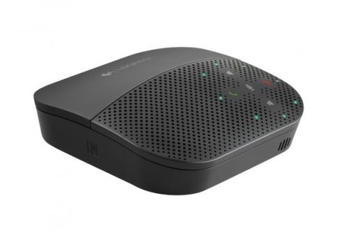 Logitech Altavoz Bluetooth P710E para Smartphone/Tablet, Inalámbrico