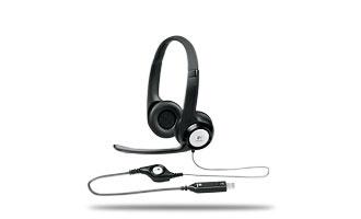 Logitech ClearChat Comfort Audífonos con Micrófono H390, Alámbrico, USB, Negro