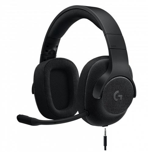 Logitech Audífonos Gamer G433 7.1, Alámbrico, 2 Metros, 3.5mm, Negro