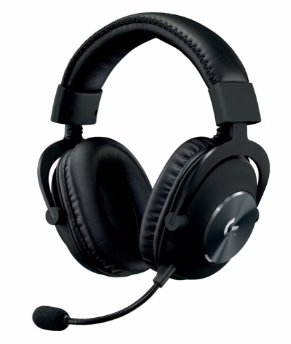 Logitech Audífonos Gamer G Pro, Alámbrico, 2 Metros, 3.5mm, Negro