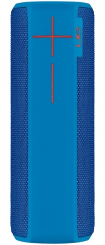 Logitech Bocina Portátil UE BOOM 2, Bluetooth, Inalámbrico, USB, Azul - Resistente al Agua