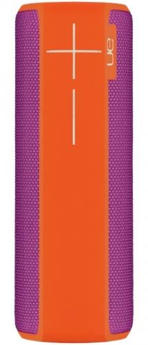 Logitech Bocina Portátil UE BOOM 2, Bluetooth, Inalámbrico, USB, Naranja - Resistente al Agua