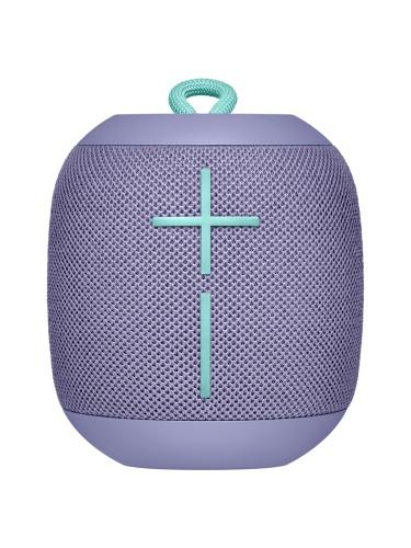 Logitech Bocina Portátil UE WONDERBOOM, Bluetooth, Inalámbrico, 2.0, Lila - Resistente al Agua