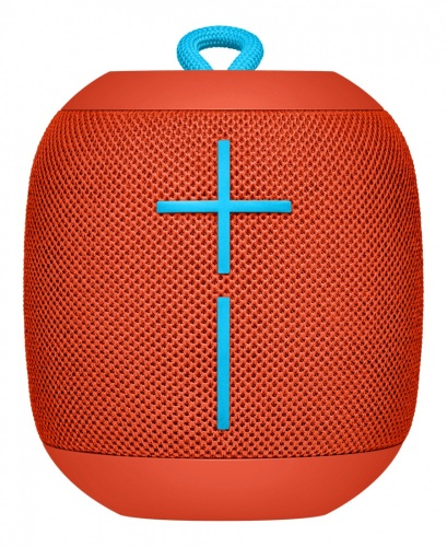 Logitech Bocina Portátil UE WONDERBOOM, Bluetooth, Inalámbrico, 2.0, USB, Naranja - Resistente al Agua