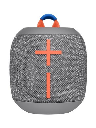 Logitech Bocina WONDERBOOM 2, Bluetooth, Inalámbrico, Gris - Resistente al Agua