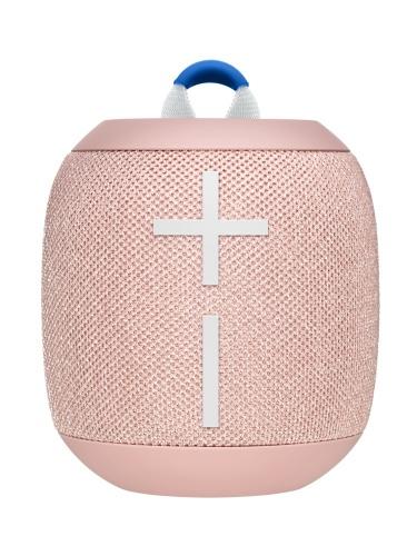 Logitech Bocina WONDERBOOM 2, Bluetooth, Inalámbrico, Naranja - Resistente al Agua
