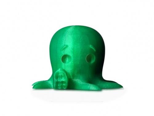 MakerBot Bobina de Filamento PLA Pequeño Translúcido, Diámetro 1.75mm, 0.2kg, Verde