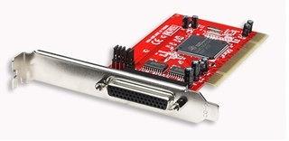 Manhattan Tarjeta PCI 175586, Inalámbrico, con 4 puertos DB9