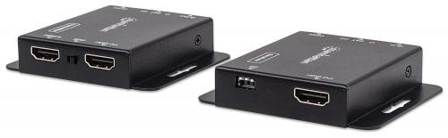 Manhattan Extensor HDMI de 3 Puertos 207461, 1920 x 1200 Pixeles, 1x RJ-45