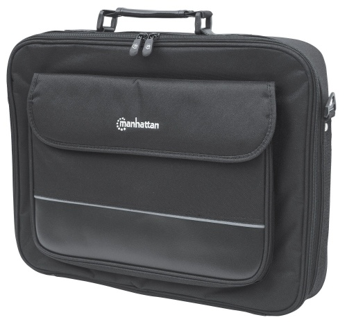Manhattan Maletin Empire de Poliester para Laptop 17'', Negro