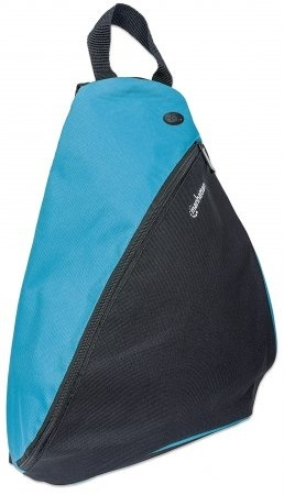 "Manhattan Mochila Dashpack para Laptop 12"", Negro/Azul"