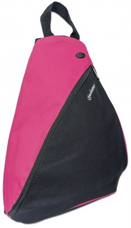"Manhattan Mochila Dashpack para Laptop 12"", Negro/Rosa"