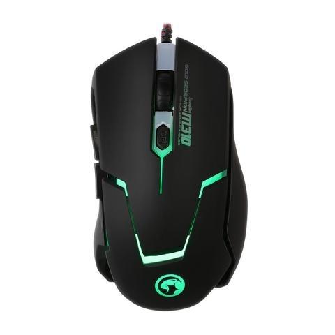 Mouse Gamer Marvo Óptico M310, Alámbrico, USB, 2400DPI, Negro