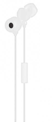 Maxell Audífonos Intrauriculares con Micrófono 347365, Alámbrico, 1.5 Metros, 3.5mm, Blanco
