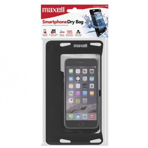 """Maxeel Funda Sumergible para Smarphone 5.5"""", Transparente"""