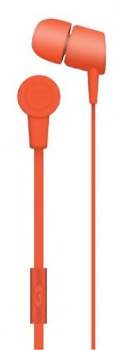 Maxell Audífonos Intrauriculares con Micrófono Solid2, Alámbrico, 1.2 Metros, 3.5mm, Rojo