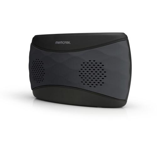 Memorex Bocina Portátil MW346G, Bluetooth, Inalámbrico, 2.0, USB, Negro