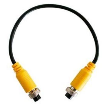 Meriva Security Cable para Cámara CCTV, DIN 4 pin Hembra -  DIN 4 pin Hembra, 1.5 Metros, Negro