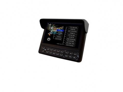 "Meriva Security Monitor CCTV LCD 7"", Negro"