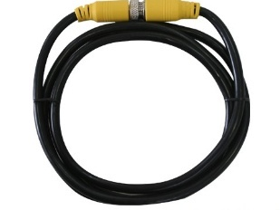Meriva Security Cable para Cámara CCTV, DIN 4 pin Macho -  DIN 4 pin Macho, 1.5 Metros, Negro