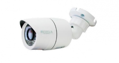 Meriva Security Cámara IP Bullet IR para Interiores/Exteriores MOB200SF, Alámbrico, 1920 x 1080 Pixeles, Día/Noche