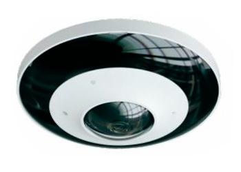 Meriva Security Cámara IP Domo IR para Interiores/Exteriores Fisheye180, Alámbrico, 2160 x 2160 Pixeles, Día/Noche