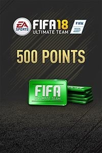 FIFA 18 Ultimate Team, 500 Puntos, Xbox One ― Producto Digital Descargable