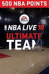 NBA LIVE 18 Ultimate Team, 500 Puntos, Xbox One ― Producto Digital Descargable