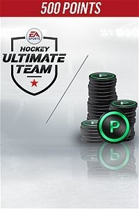 NHL 18 Ultimate Team, 500 Puntos, Xbox One ― Producto Digital Descargable