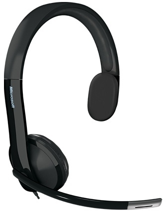 Microsoft LifeChat LX-4000 Audífono con Micrófono, Alámbrico, USB