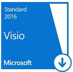 Microsoft Visio Standard 2016, 1 PC, Plurilingüe, para Windows ― Producto Digital Descargable