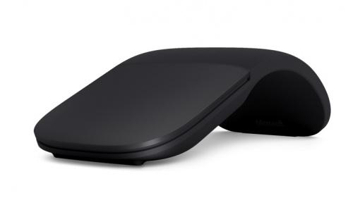 Mouse Microsoft BlueTrack Arc, 2 Botones, Inalámbrico, Bluetooth, Negro