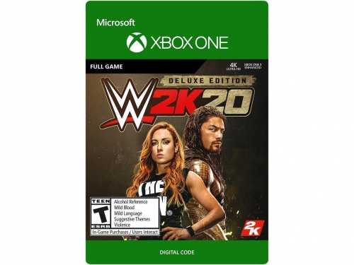WWE 2K20: Digital Deluxe, Xbox One ― Producto Digital Descargable