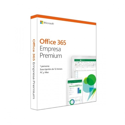 Microsoft Office 365 Empresas Premium Español, 64-bit, 1 Licencia, 1 Año, para Windows/Mac