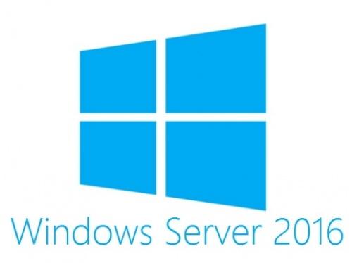 Microsoft Windows Server 2016 Standard, 64-bit, 1 Usuario (OEM)