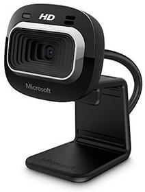 Microsoft Webcam LifeCam HD-3000, 1280 x 720 Pixeles, USB 2.0, Negro