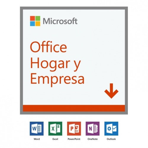 Microsoft Office Hogar y Empresas 2019, 1 PC, Plurilingüe, Windows