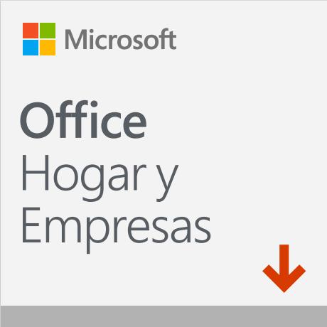 Microsoft Office Hogar y Empresas 2019, 1 PC, Plurilingüe, para Windows/Mac