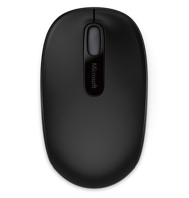 Microsoft Wireless Mobile Mouse 1850, Inalámbrico, USB, 1000DPI, Negro