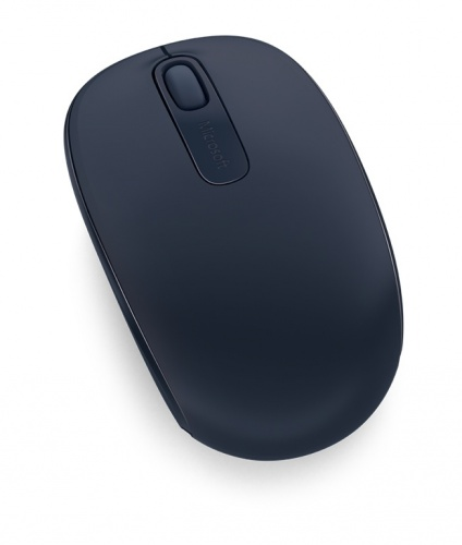 Mouse Microsoft Wireless Mobile 1850, RF Inalámbrico + USB, Azul Marino