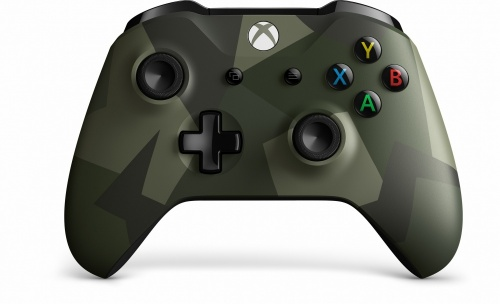 Microsoft Gamepad Armed Forces II Special Edition para Xbox One, Inalámbrico, Bluetooth