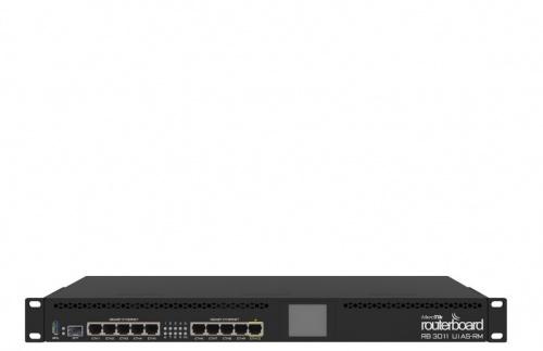 Router MikroTik Gigabit Ethernet RouterBoard, Alámbrico, 10x RJ-45, 1U