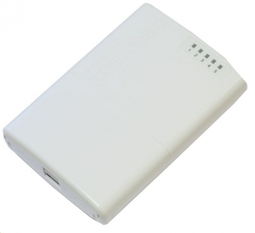 MikroTik Fast Ethernet PowerBox, Alámbrico, 5x RJ-45