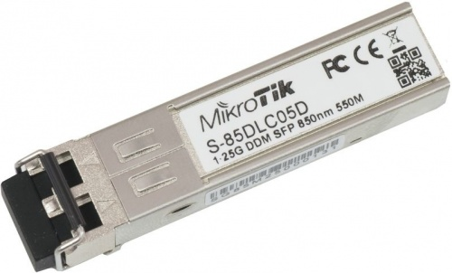 MikroTik Módulo Transceptor MiniGbic SFP 1.25G, LC Duplex Multimodo,1250 Mbit/s