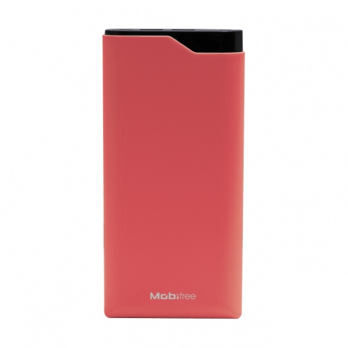 Cargador Portátil Mobifree Power Bank MB-923569, 16.000mAh, Rojo