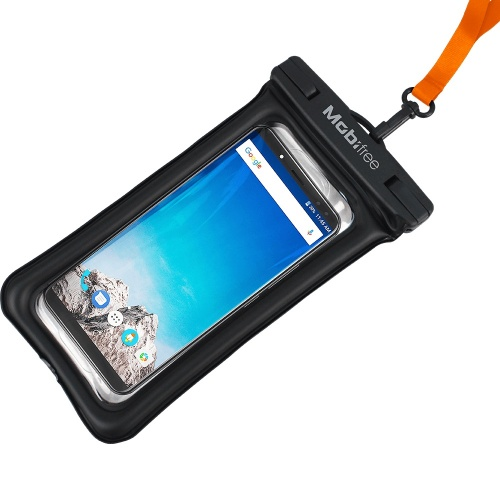 Mobifree Funda Impermeable MB-926454 Smartphone, Transparente