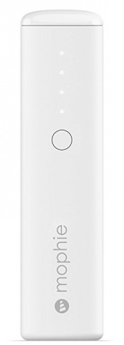 Cargador Portátil Mophie Power Station Boost Mini, 2600mAh, Blanco