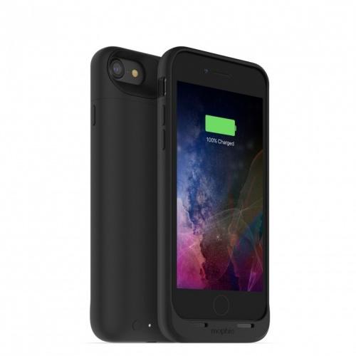 Mophie Funda Cargador Juice Pack Air para iPhone 7, 2420mAh, Negro