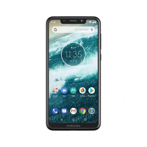 Smartphone Motorola Moto One 5.9'', 1520 x 720 Pixeles, 32GB, 3GB RAM, 3G/4G, Android 8.1, Negro