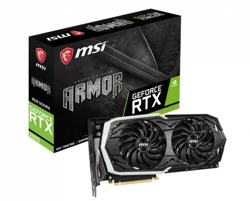 Tarjeta de Video MSI NVIDIA GeForce RTX 2070 ARMOR, 8GB 256-bit DDR6, PCI Express x16 3.0